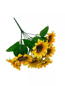 Słonecznik bukiet 32 cm żółty