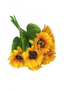 Słonecznik wiązka 30 cm żółty