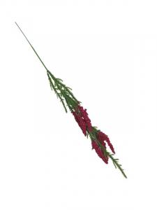 Wrzos kwiat pojedynczy 40 cm ciemno różowy