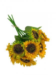 Słonecznik wiązka 36 cm żółty